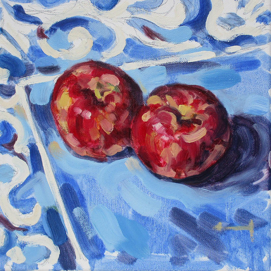 Delicious Painting - Cool and Crisp by Thomas Dans