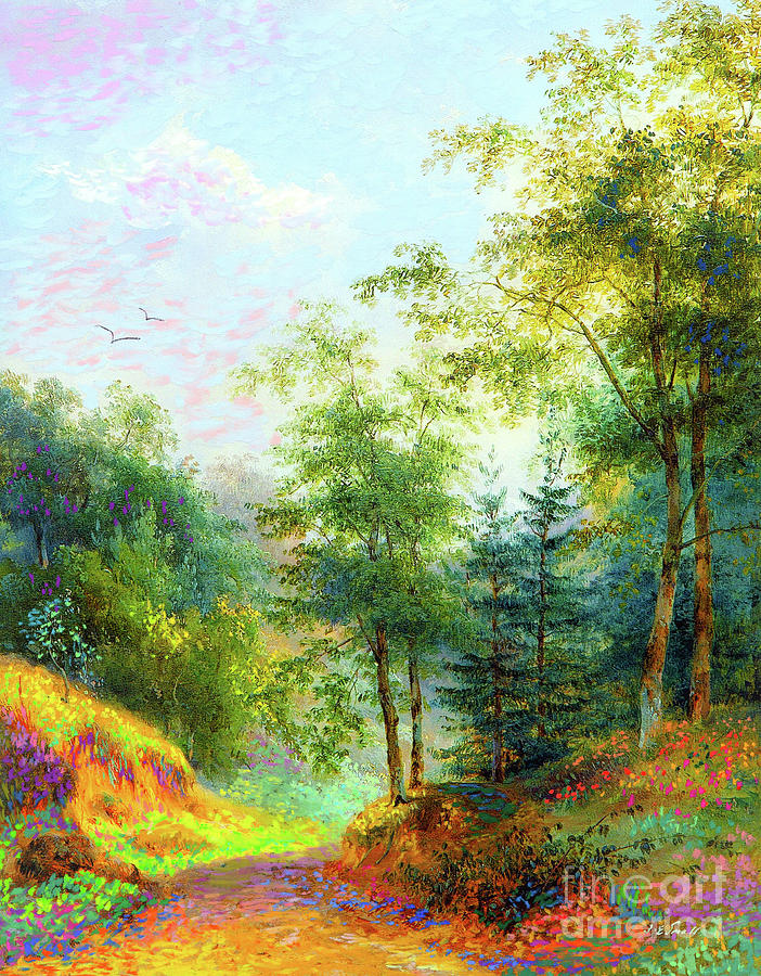 Cool Summer Breeze Painting