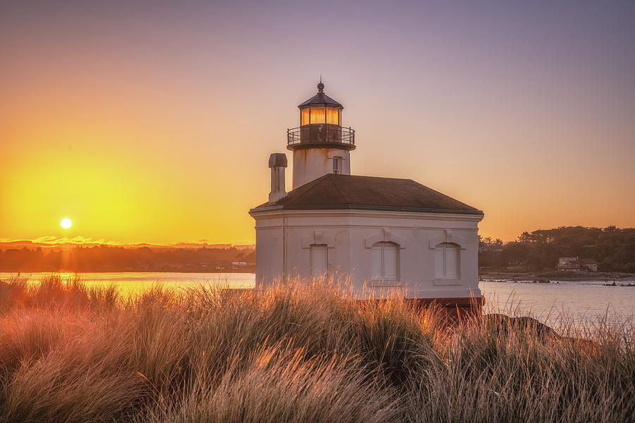 Coquille Sunrise Photograph