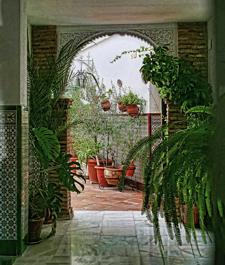 Cordoba Courtyard Photograph