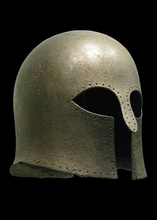 Corinthian Helmet Photograph
