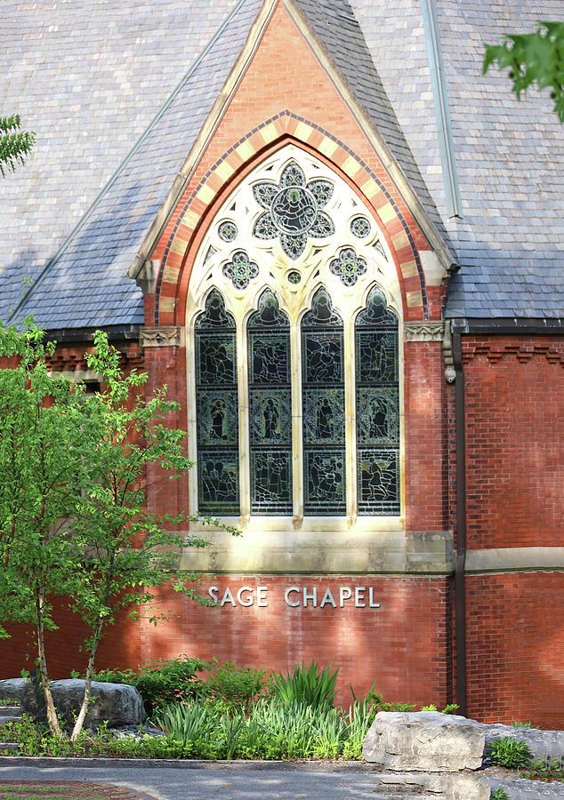 Cornell University - Sage Chapel 2 Photograph