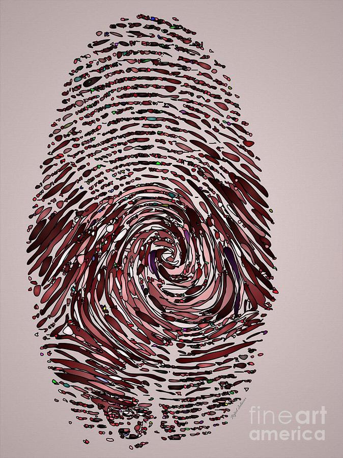 Coronavirus Forever Fingerprint Painting