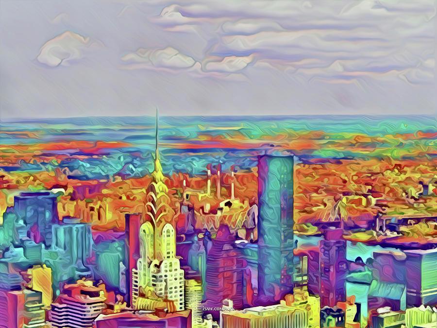 Cosmopolitan Manhattan Digital Art