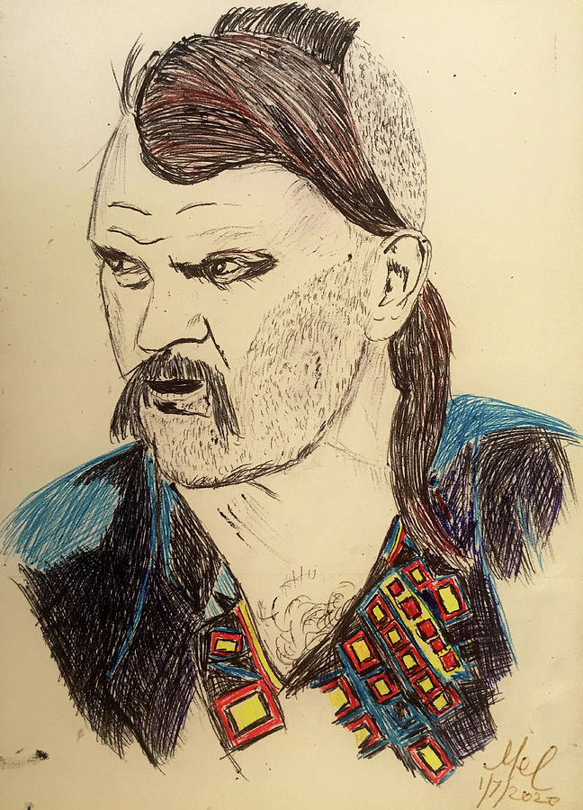 Cossack Drawing