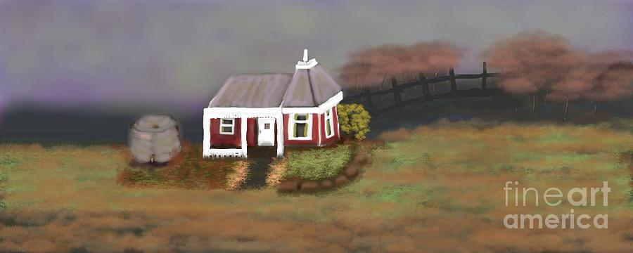 Cottage Digital Art - Cottage of your heart 2 by Julie Grimshaw