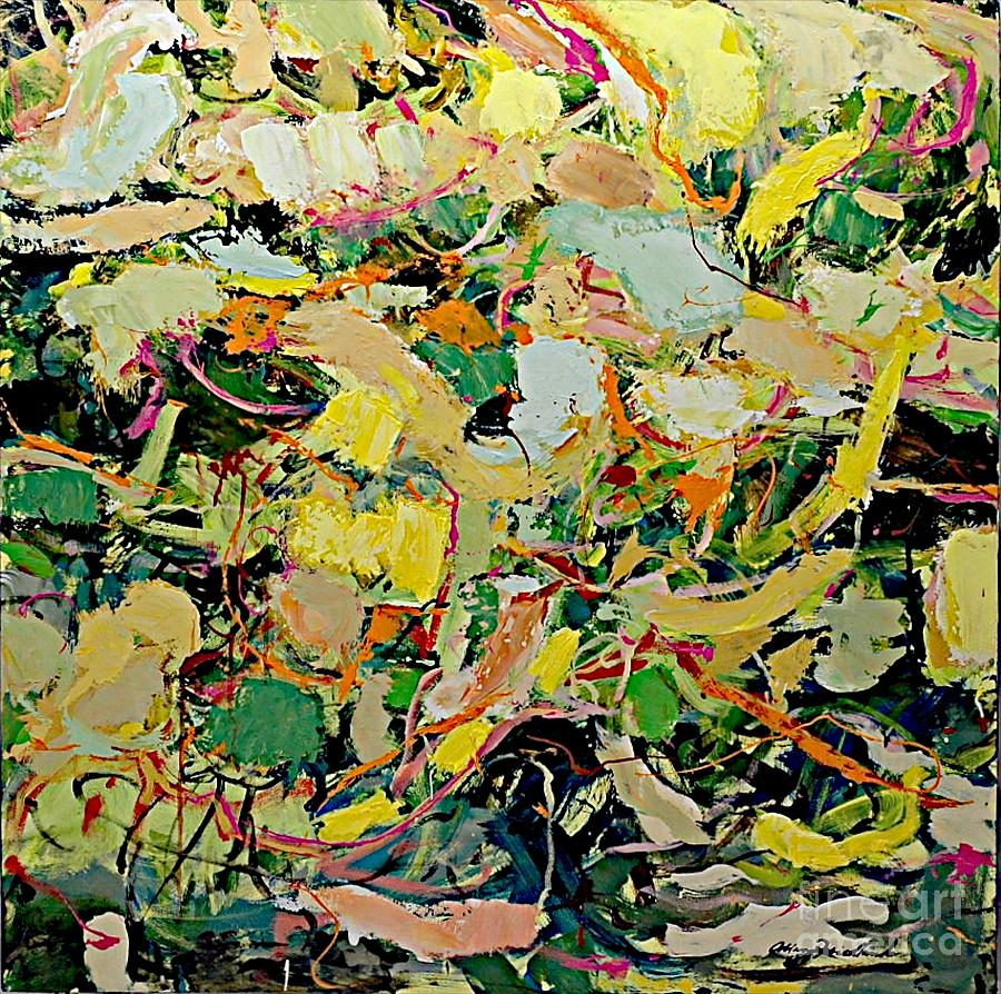 Landscape Painting - Cotton Blossom by Allan P Friedlander
