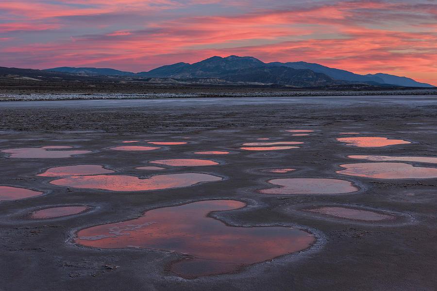 Sunset Photograph - Cottonball Basin Sunset by Ken Weber