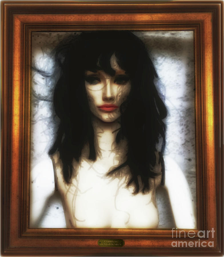 Art Frame Photograph - Countess Of Mad Desires  by Steven Digman