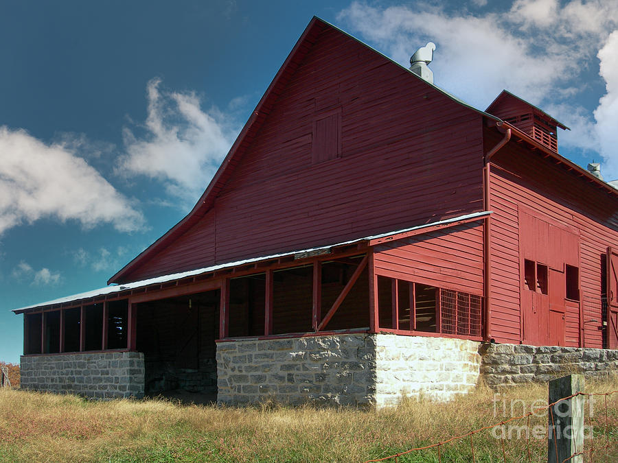 Country Barn In North Carolina Photograph