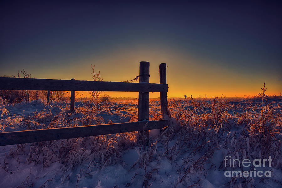 Canada Photograph - Country Sunrise by Ian McGregor