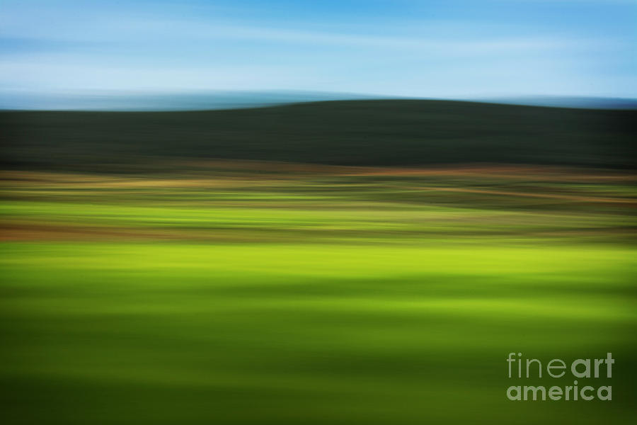 Field Photograph - Countryside. Abstract by Vicente Sargues