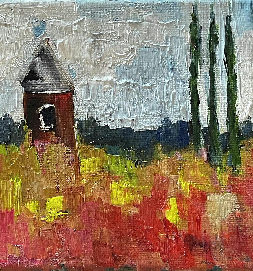 Countryside Folly Painting