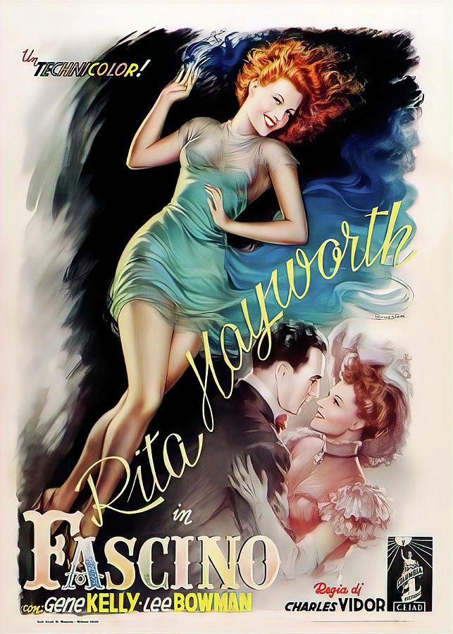 cover Girl, With Rita Hayworth, 1944 Mixed Media