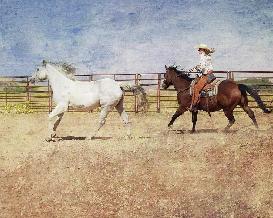 Cowgirls Photograph - Cowgirls Rock by Cindy Keen