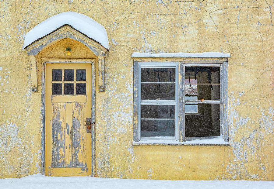 Cracked Paint Photograph