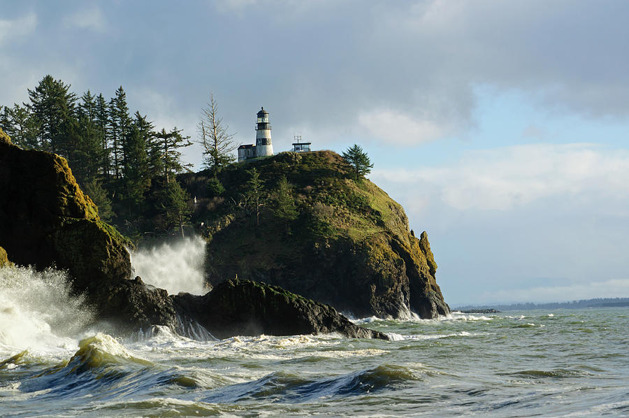 Crashing Waves in Cape of Disappointment by Tikvah's Hope