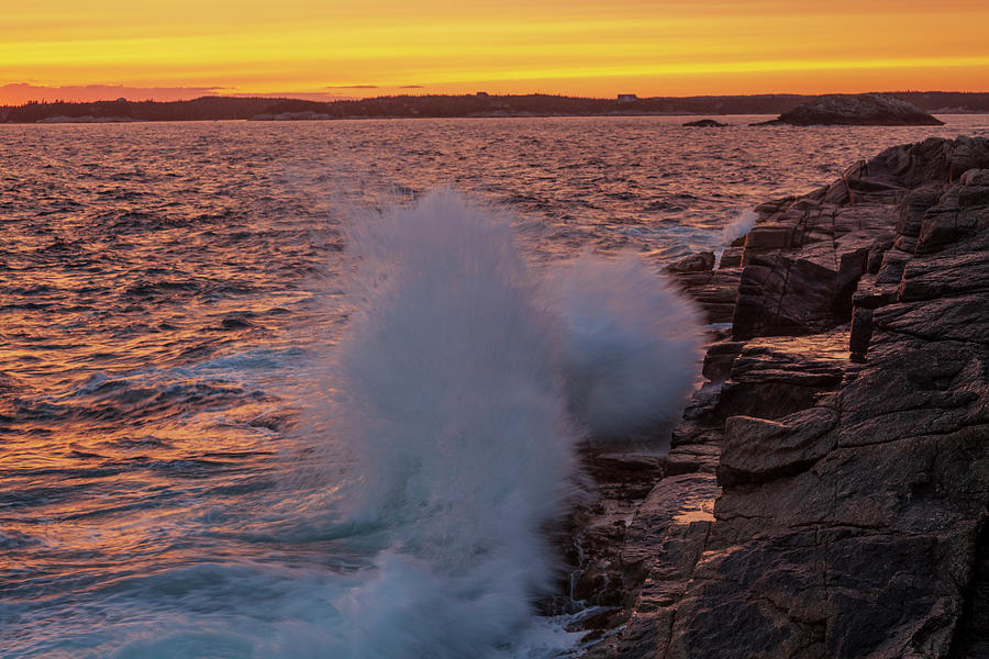 Crashing Waves by Irwin Barrett