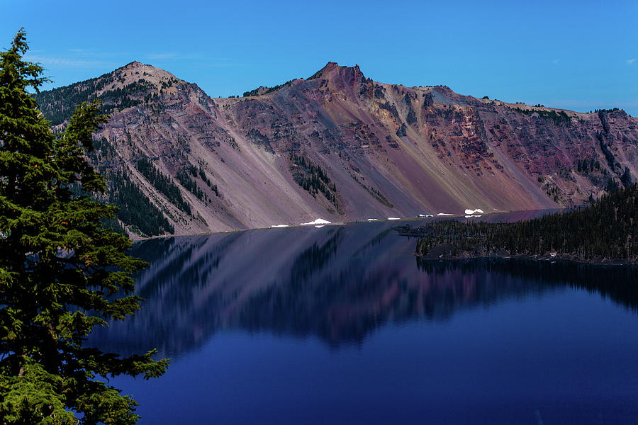 Crater Lake Photograph - Crater Lake #5 by John Heywood