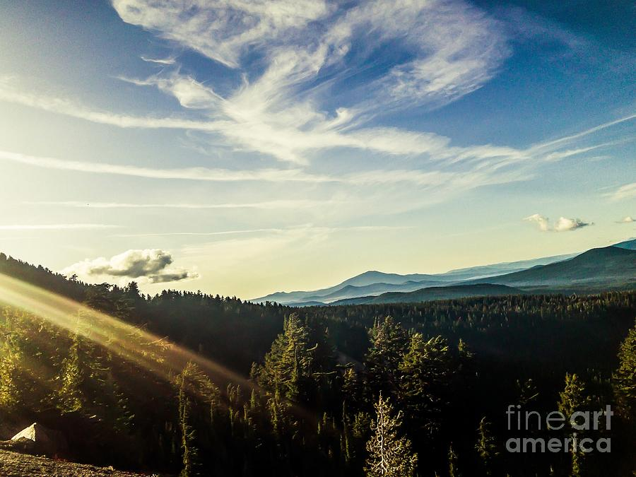Crater Lake Afternoon Photograph