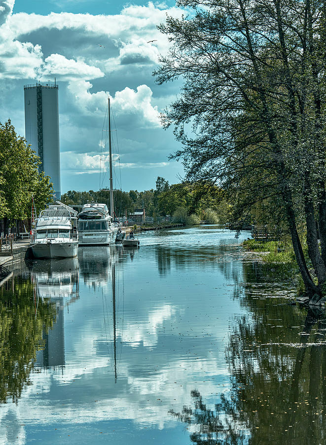 Creek Reflections #j8 Photograph