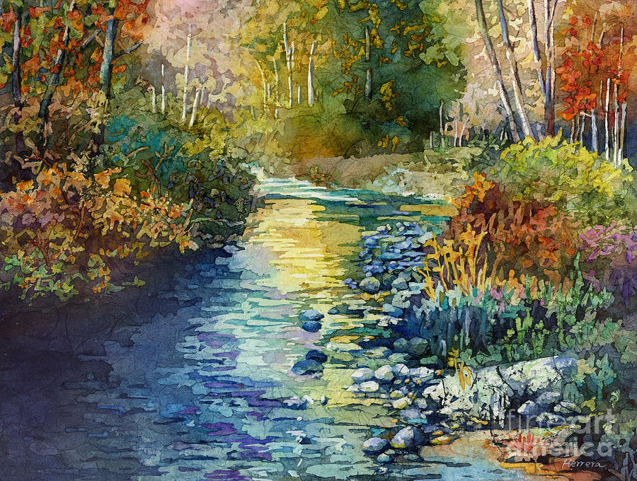 Creekside Tranquility Painting