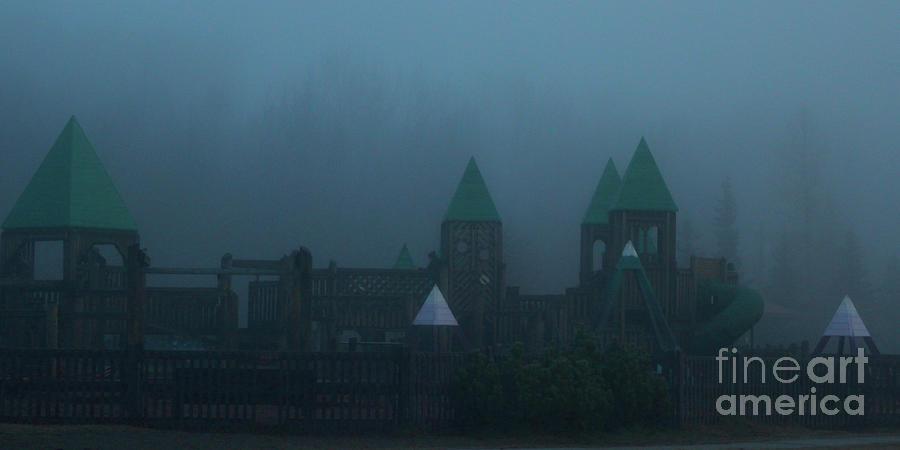 Creepy Park Photograph by Ross Coleman
