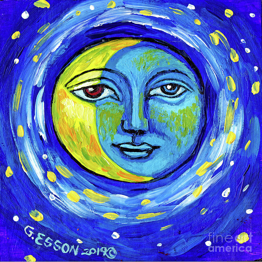 Crescent Moon by Genevieve Esson