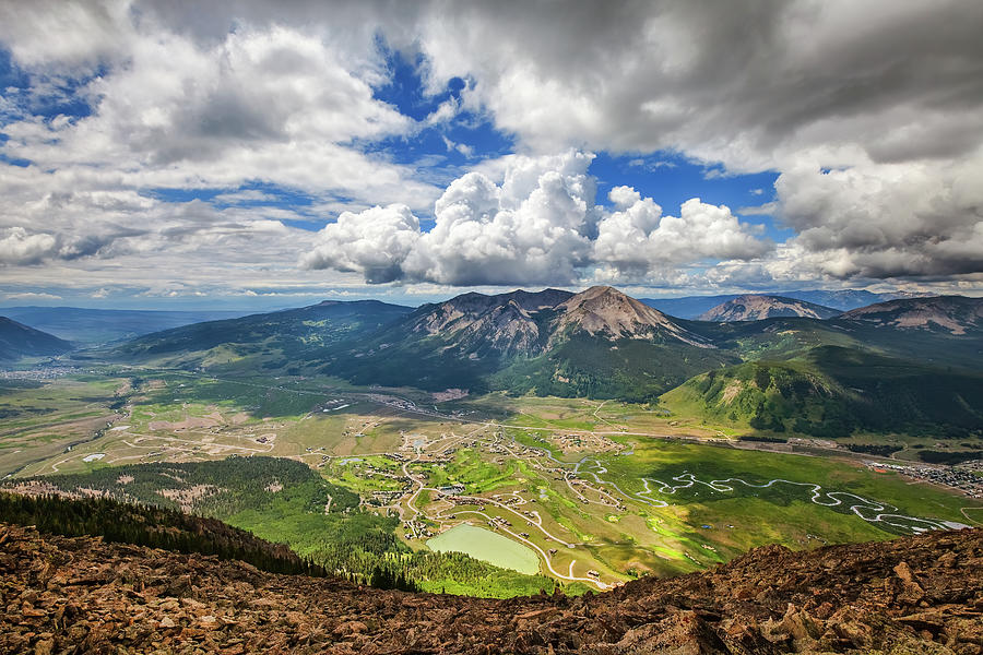 Crested Butte Clouds Photograph