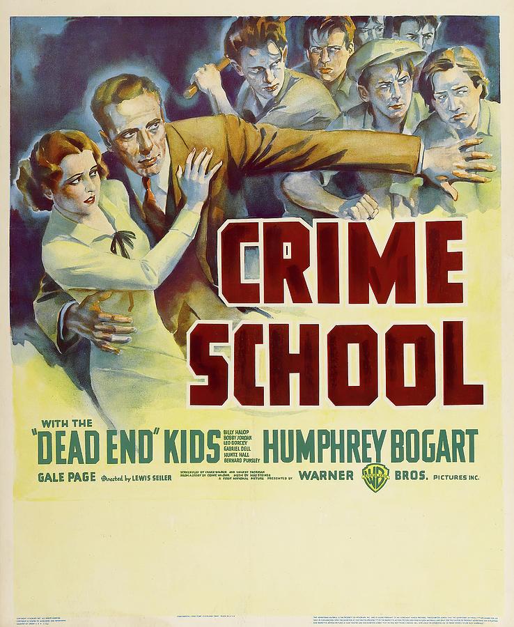 crime School, With Humphrey Bogart, 1938 Mixed Media