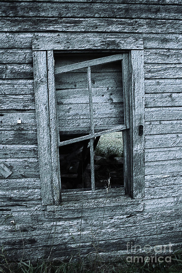 Architecture Photograph - Crooked by Mary Mikawoz