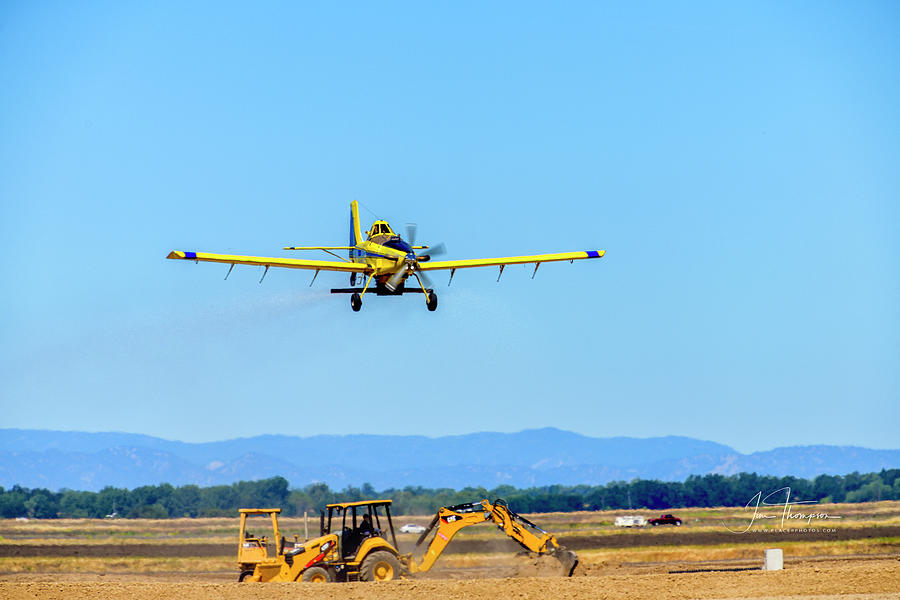 Air Tractor Photograph - Crop Duster 1 by Jim Thompson