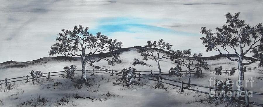 Cross Fields Painting