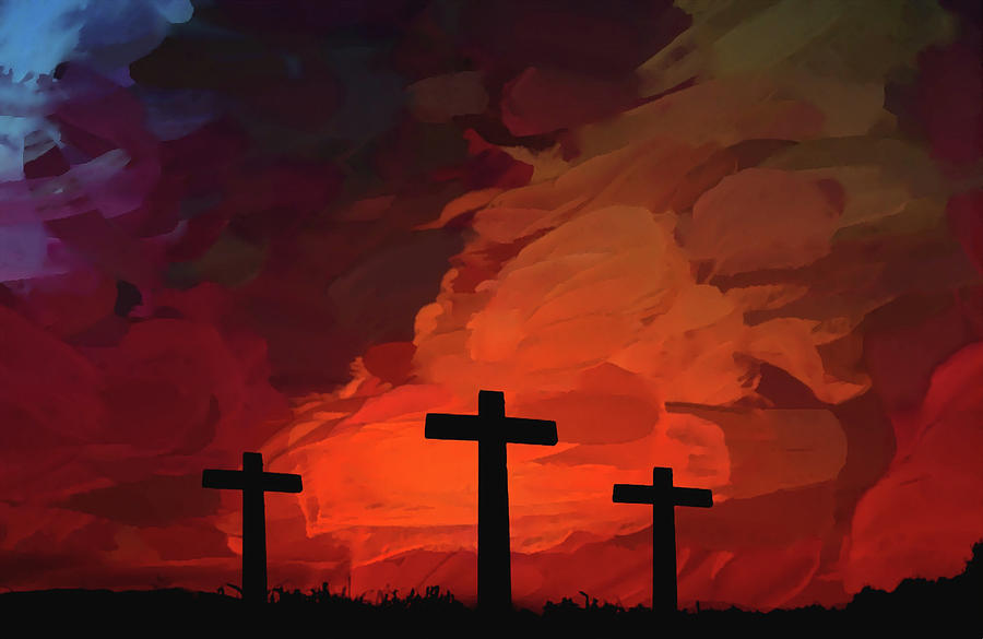 Crosses Of Calvary  by Movie Poster Prints