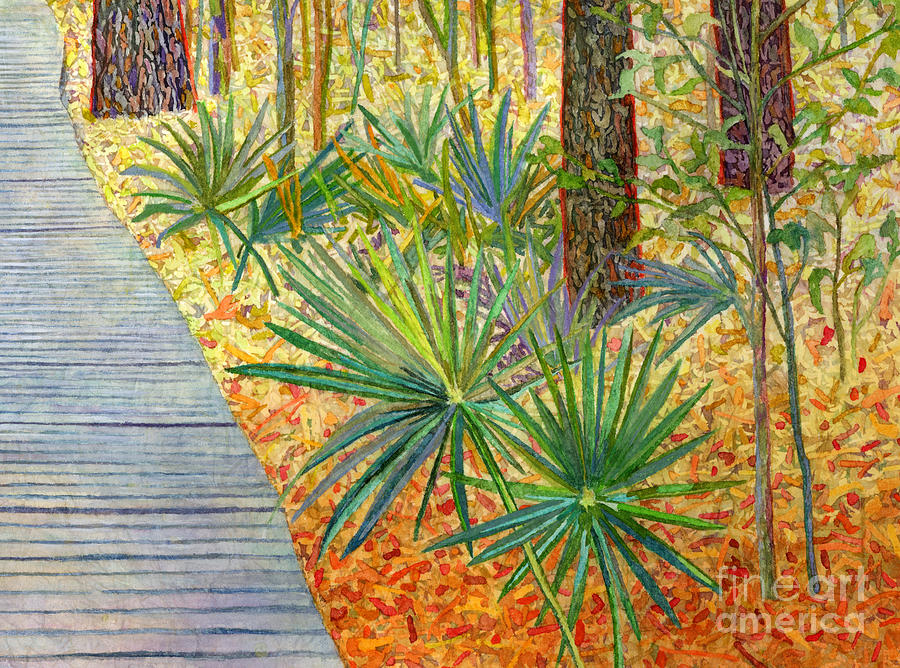 Crossing Chinquapin Trail-palmetto Painting