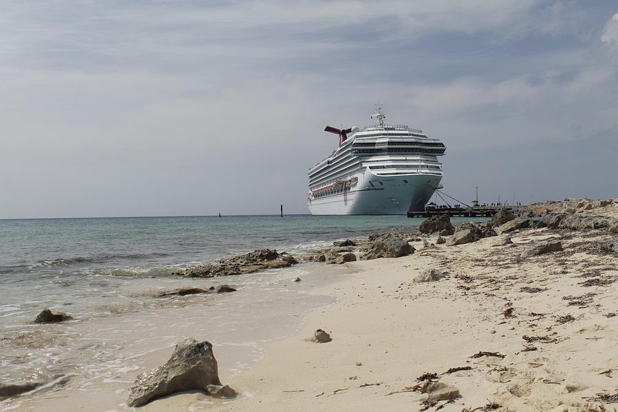 Cruise By The Beach Photograph