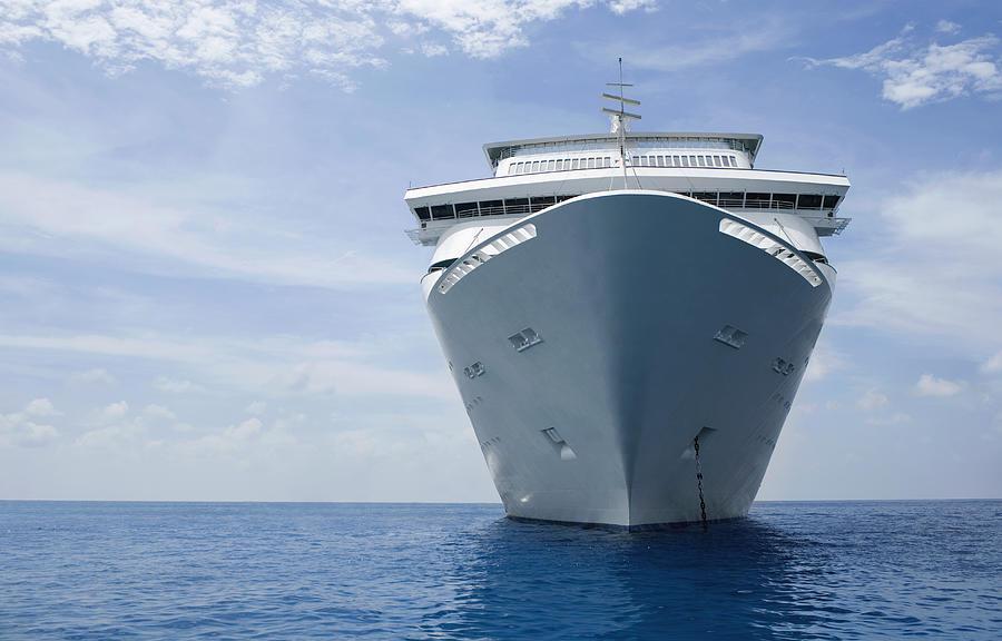 Cruise ship Photograph by David Sacks