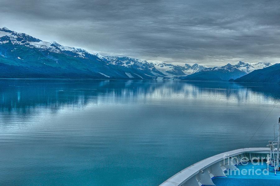 Cruise View Of Alaskan Glaciers Photograph