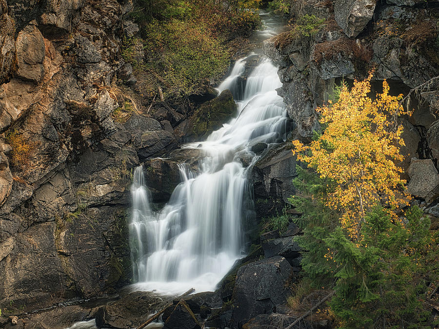 Crystal Falls Photograph