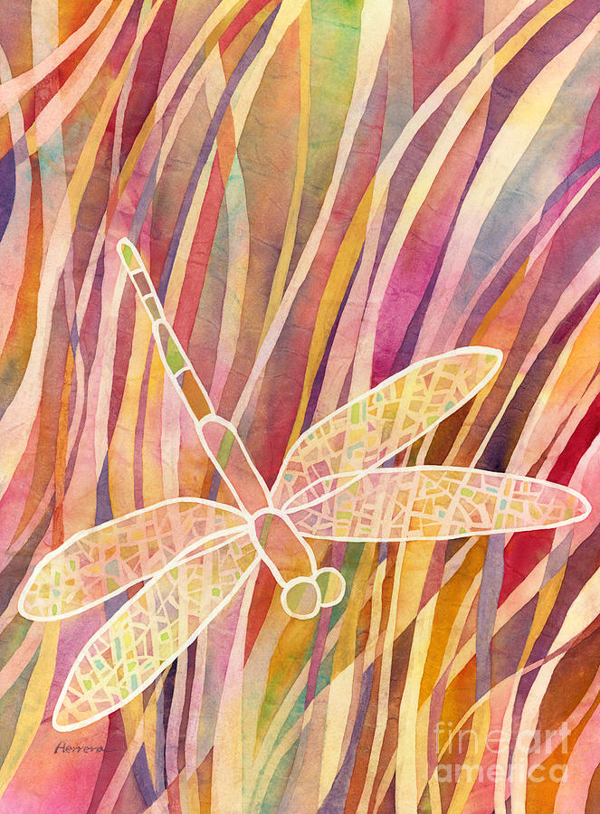 Crystal Wings 1 Painting