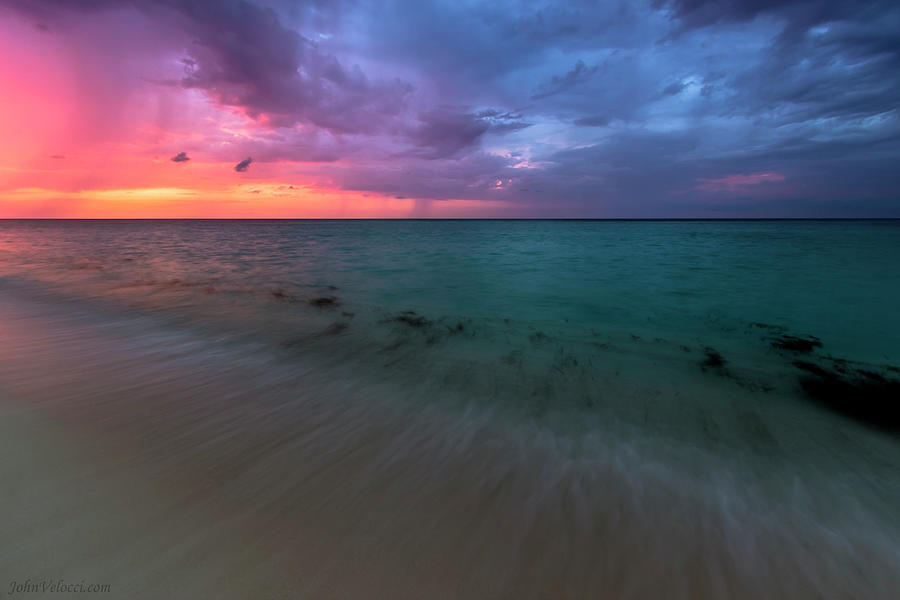 Cuba Photograph - Cuba Beach 2 by John Velocci