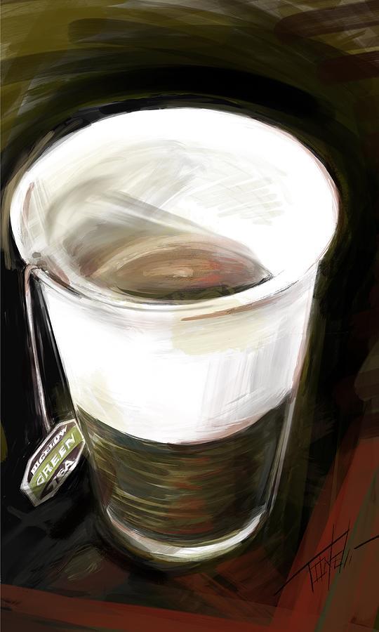 Cup Of Tea Mixed Media
