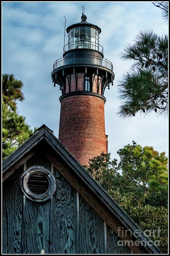 Lighthouses Photograph - Currituck Light by Steven Norris