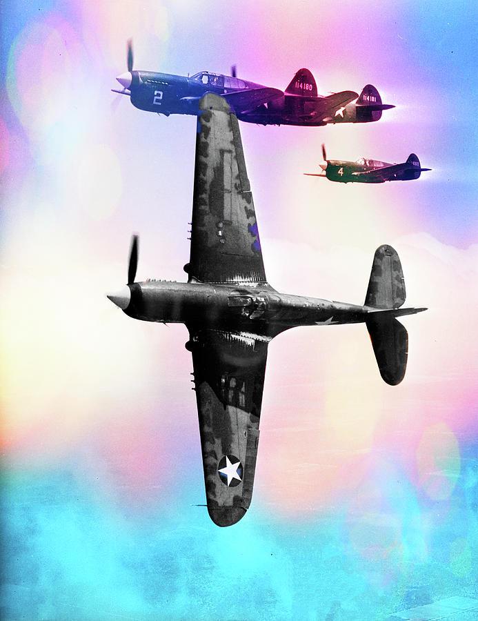 Curtiss P-40 Warhawk by Carlos Diaz