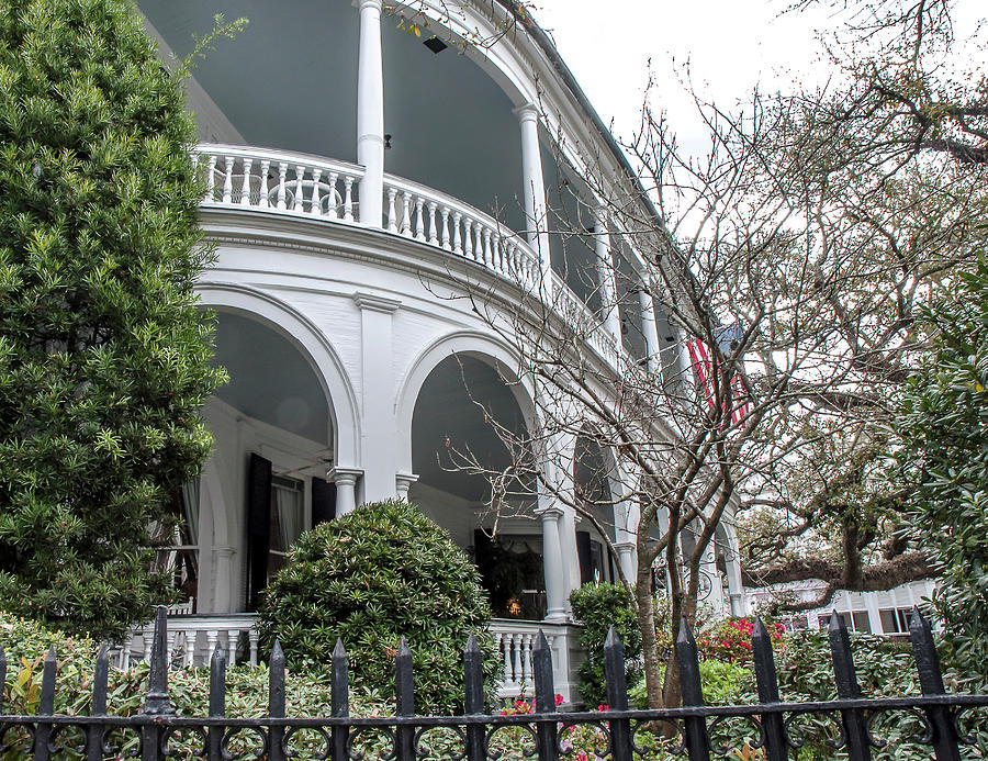 Curved Porch Photograph