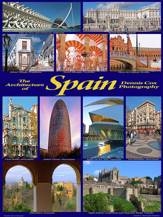 Custom Spain Architecture Poster Photograph