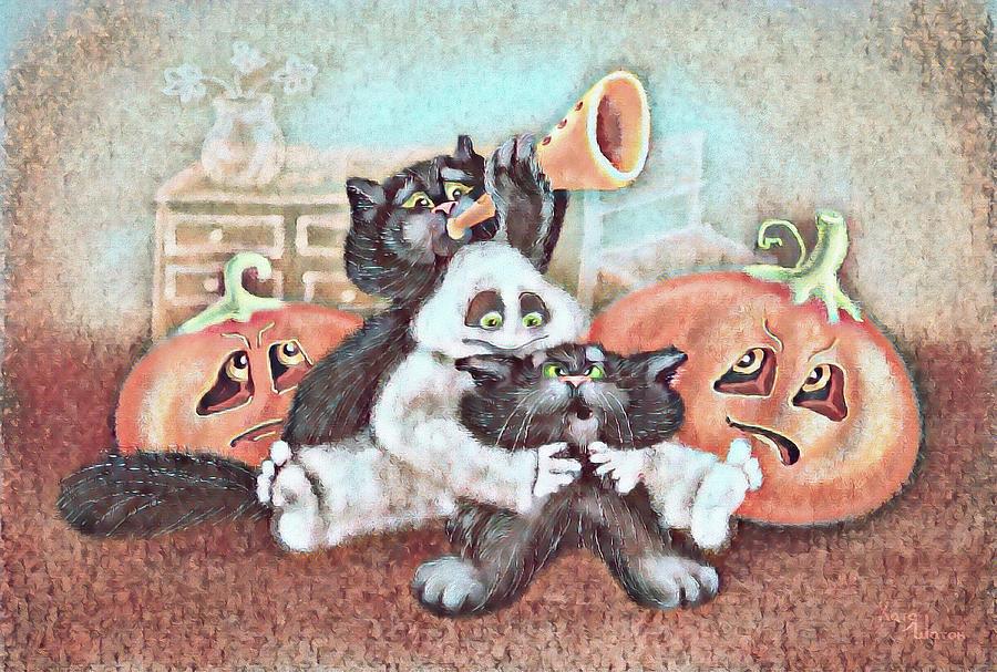 Cute Baby Terracotta Digital Art