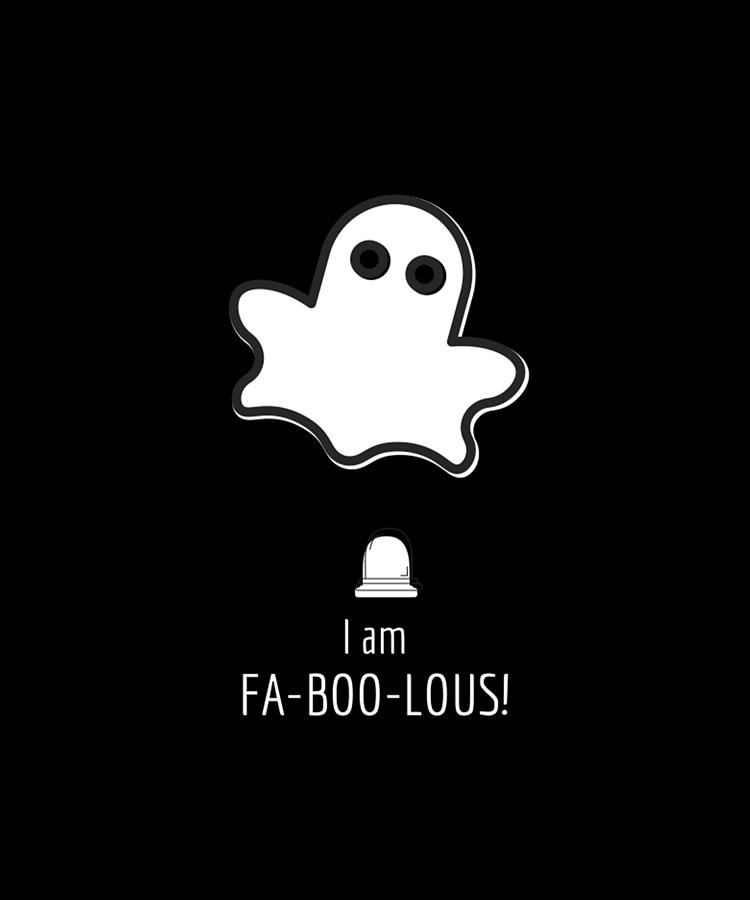 Cute Ghost Is Fabulous Nay Faboolous Black Digital Art By Andrea Find images of cute ghost. cute ghost is fabulous nay faboolous black by andrea