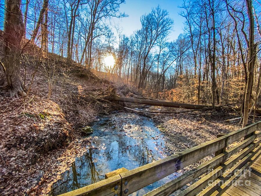 Cuyahoga Valley National Park Bridge Photograph
