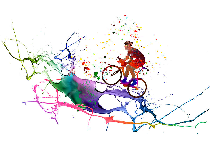 Cycling Fun 01 by Miki De Goodaboom